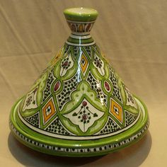 This Moroccan tagine is from the city of Safi.