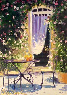 Cecilia Rosslee: Table de Jardin