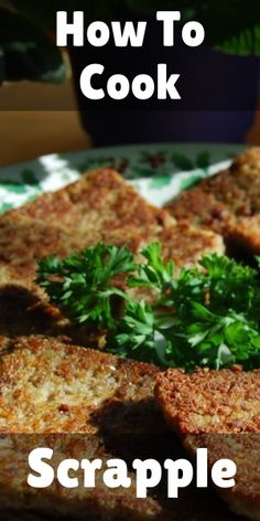 How to Cook Scrapple [ 2 Easy Methods ] If you are searching for how to cook scrapple, then you are in the right place. In this article, we will be covering how to cook scrapple on a pan or using an oven, that too easily at home. Amish Recipes, Oven Recipes, Paleo Recipes, Breakfast Potluck, Breakfast Recipes, Breakfast Appetizers, How To Cook Boudin, Easy Beef Stir Fry