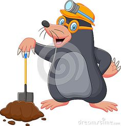 Colouring Pages, Printable Coloring Pages, Cartoon Mole, Salvador, Kids Church, Woodland Creatures, Looney Tunes, Shovel, Games