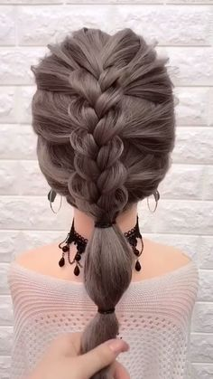 Easy Hairstyles For Long Hair, Braids For Long Hair, Girl Hairstyles, Step Hairstyle, Hairstyle Tutorials, Bridesmaid Hairstyles, Box Braids, Protective Hairstyles, Wedding Hairstyles