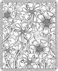 Image result for floral design color by number coloring pages for adults