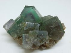 Fluorite crystals with phantoms – Billing Hills Mine, County Durham, England