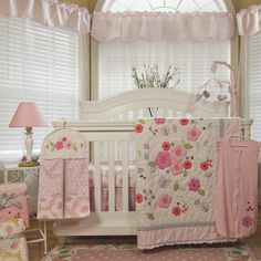 Found it at Wayfair - Garden District 4 Piece Crib Bedding Set