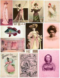 Free vintage printables.