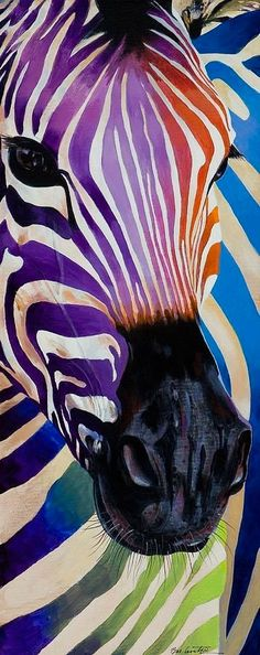 Zebra bunt