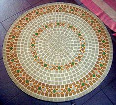 Mesas de mosaico | Alem da Rua Atelier