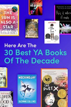 Here are the books that left an impact on us throughout the last 10 years. Ya Books, Book Club Books, Book Lists, Good Books, Books To Read, Book Nerd, Reading Lists, Books For Teens, Young Adult Books