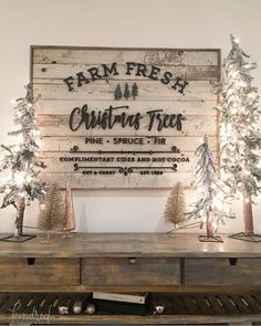 I wanted to share my favorite 65 Modern Farmhouse Christmas Decor today. I love Rustic Christmas Decor all through the year, but it's especially fun to decorate our house in Modern Farmhouse Christmas Decor with pops of plaid, wood &… Continue Reading → Fresh Christmas Trees, Christmas Signs Wood, Christmas Time Is Here, Merry Little Christmas, Rustic Christmas, Winter Christmas, Christmas Lights, Christmas Crafts, Christmas Design