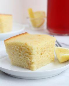Semolina Yogurt Cake - Inquiring Chef