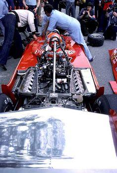 Niki Lauda, Ferrari 312T2, 1977 F1 World Championship