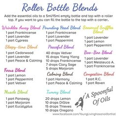 www.yl4life.org/grannywentgreen Want to mix up your own blends for a roller bottle or even your diffuser? Here are some possibilities.