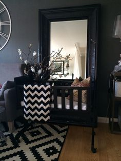 My livingroom right now coming sooooon i hope ❤️ Baby Coming, Old And New, My House, Castle, Vanity, Living Room, Mirror, Interior, Furniture