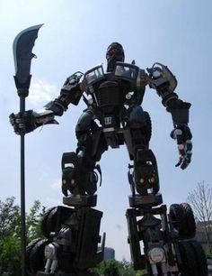 China Can Do Giant Robots Too: Robo Guan Yu
