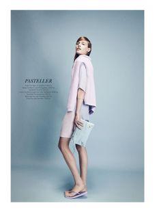visual optimism; fashion editorials, shows, campaigns & more!: emma oak by sascha oda for eurowoman may 2014