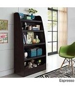 New Deluxe Kids Espresso Bookshelf Bookcases Wi... - $138.59