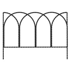 Garden Border Edge, Rustic Steel Wire, 14 x 20-In.: Model# 89362 | True Value