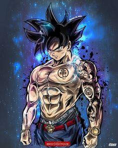 """Stunning Ultra Instinct Goku"" this is called 10 billion % Osmmmm Dragonball Goku, Goku Saiyan, Goku And Vegeta, Wallpaper Do Goku, Dragonball Wallpaper, Beast Wallpaper, Digital Foto, M Anime, Anime Girls"
