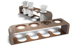 pour over drip coffee stand