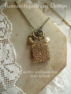 SCRABBLE Letter Necklace Letter E Necklace. by PreciousPastimes