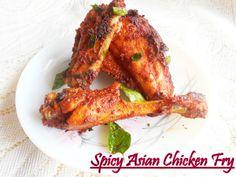 Spicy Asian Tender Chicken Fry. http://www.nisahomey.com/2012/08/spring-chicken-fry.html