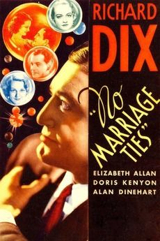 Image result for no marriage ties 1933