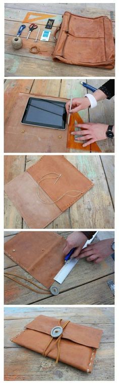 DIY iPad Cluth