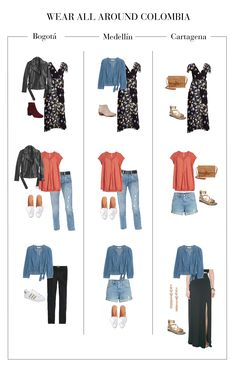 What to Pack For Bogotá (and the rest of Colombia) - The Mom Edit Easy Mom Fashion, Trendy Fashion, Fashion Trends, Cali Fashion, Trip To Colombia, Colombia Travel, Fall Outfits, Summer Outfits, Casual Outfits