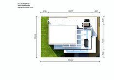 DOM.PL™ - Projekt domu CPT HomeKONCEPT-30 CE - DOM CP1-36 - gotowy koszt budowy Modern House Facades, Modern Architecture House, Modern House Plans, Architecture Design, House Construction Plan, Duplex Design, 2 Storey House, Beautiful House Plans, Facade House