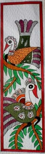 Madhubani bookmarks 1
