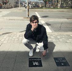 I'm truly honored to receive my own Walk Of Fame Stone in my hometown Bergen ❤ Thank you so much! Alan Walker, Walker Art, Walker Join, Dj Music, New Image, People, Bergen, Potato, Vsco