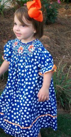 SMOCKED AUBURN DRESS - NWT | eBay