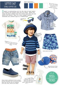 Emily Kiddy: Boys Holiday Summer Trend - Spring/Summer 2013