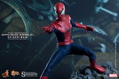 The Amazing Spider-Man 2 Sixth Scale Figure from Hot Toys Hot Toys Spiderman, Spiderman Movie, Amazing Spiderman, Thanos Hulk, Marvel And Dc Characters, Midtown Comics, Spider Man 2, Star Wars Ships, Spider Verse