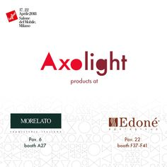 Axolight products at Salone del Mobile 2018:  Orchid, Hoops, Spillray, Clavius collections at Morelato booth- hall 6 booth A27. Virtus pendant lamps at Edoné booth - hall22 booth F37-F41. #axolight #lighting #design #light #salonedelmobile2018 #milano #italia