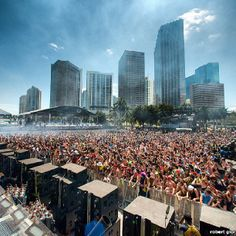 Only in Miami will you be able to party downtown with thousands and thousands of other people and it be legal.