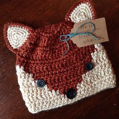 Fox hat ($5.50 pattern)