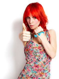 "Thumbs up is exactly what thousands and thousands of Facebook fans are giving the May cover. (Seriously, when Paramore posted about Hayley being on Cosmo, it got over 33,000 ""likes""!) Matt Jones -Cosmopolitan.com"