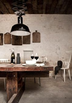 Norm Architects for Restaurant Höst http://www.remodelista.com/posts/the-viking-table-reimagined-restaurant-h-st-in-copenhagen