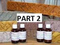 Hot Process - 4 Base Recipes & 1 Supperfat Recipe (Part 2 of 2)