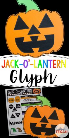 Do you use glyphs for math? This festive jack o lantern glyph combines art, following directions, and math all while creating a beautiful display in your classroom. We first create our glyphs using the directions provided, hang them up to create a pumpkin patch, then students use the glyphs to tally the data shown and finally graph their findings.