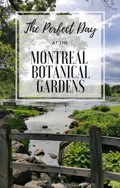 Montreal Botanical Gardens is the perfect day out in the city. There is nothing like getting away from hustle and surrounding yourself with nature!