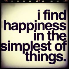 Truth! The Simple Things