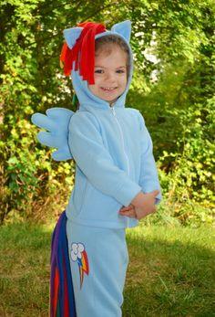 my little pony costume - hoodie