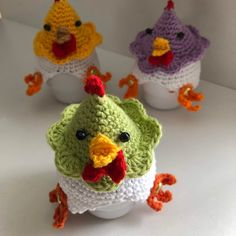haakpatroon kippetjes eierwarmers