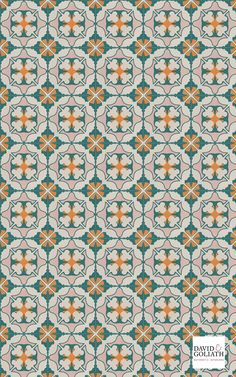 Cement tile with vintage design. Textile Pattern Design, Textile Patterns, Textile Prints, Graphic Patterns, Print Patterns, Doll House Flooring, Texture Mapping, Arabic Design, Tiles Texture