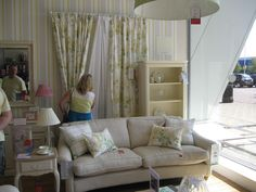 Nice mixes of colours and patterns - Laura Ashley shop