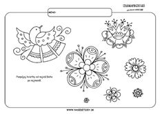 Vajnorské ornamenty - pracovné listy pre deti