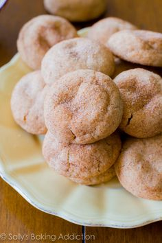 Soft & Thick Snickerdoodles. Ready in 20 minutes. [Made these yesterday since I still don't have many ingredients in my house, and they were a hit.] sallysbakingaddiction.com