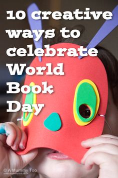 This year: March 2015 is World Book Day - here are ten simple and fun ideas for creative activities to try with the kids. World Book Day Activities, World Book Day Ideas, Library Activities, Day Book, Kindergarten Activities, Book Costumes, Teacher Costumes, World Book Day Costumes, Book Week Costume